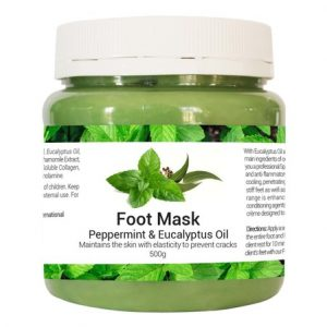 foot mask mentol monails
